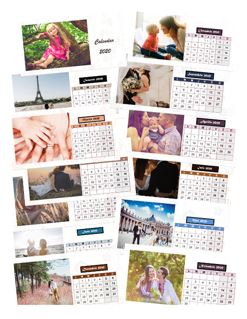 calendar birou 13 pagini